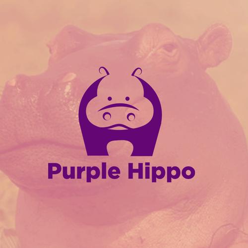 purple hippo