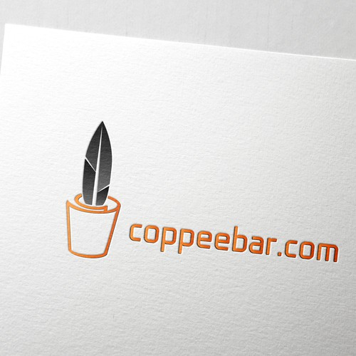 Creative illustrated concept logo