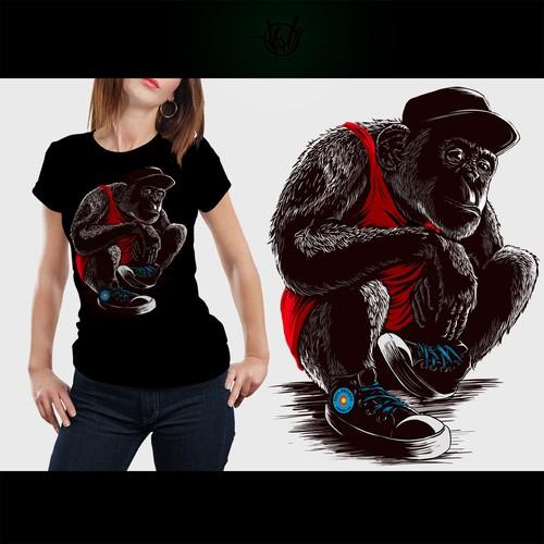 sneaker chimp