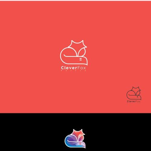 bold logo concept for cloud base data backup store company.