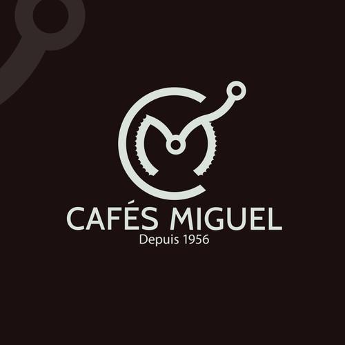 Logo for a coffee company