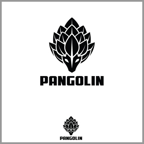 Logo concept for pangolin sports