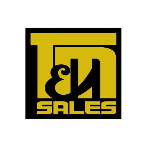 Simple Letterform Design for Truck Sales
