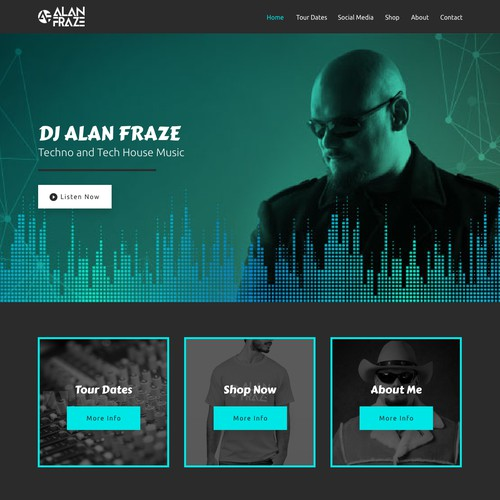 Web Design - Music Theme