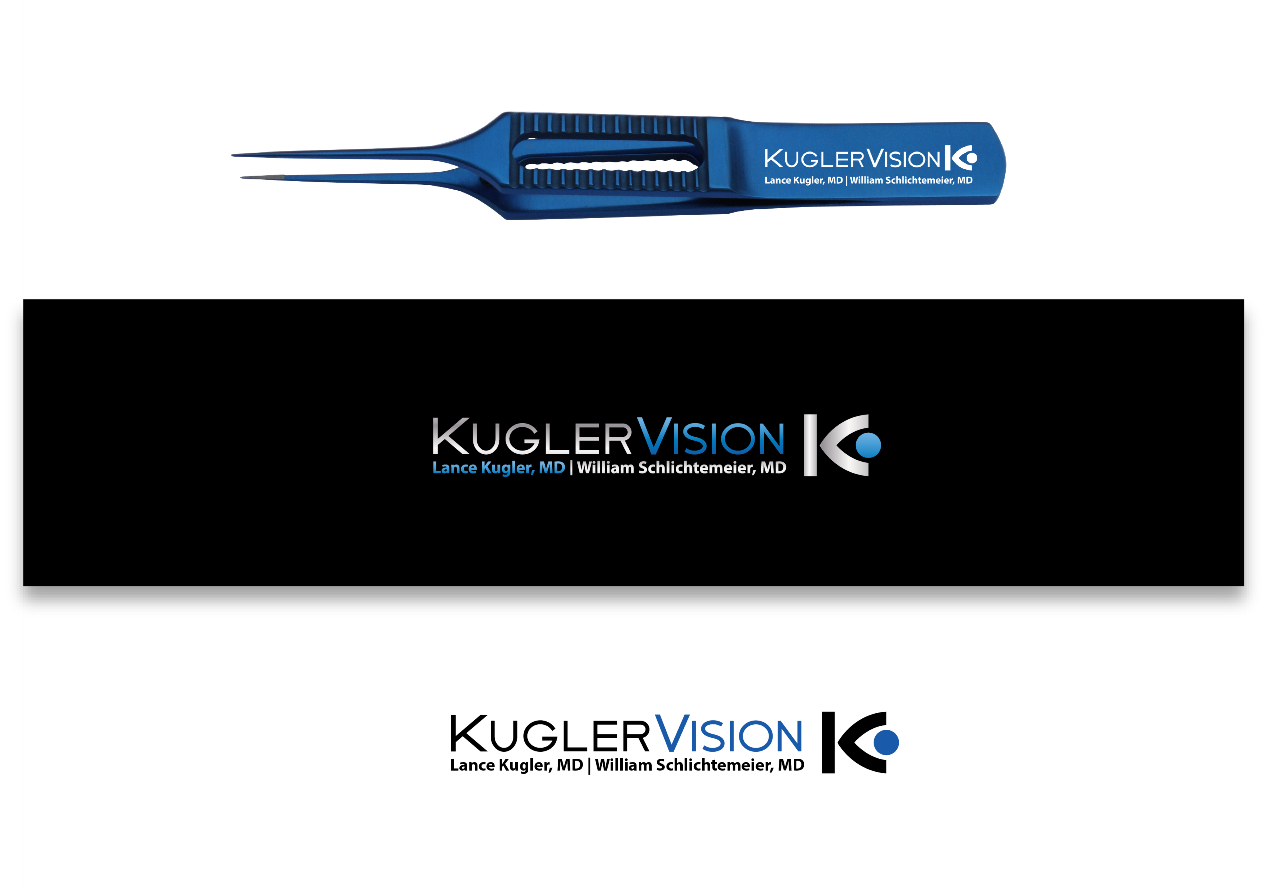 Help Kugler Vision with a new logo and business card