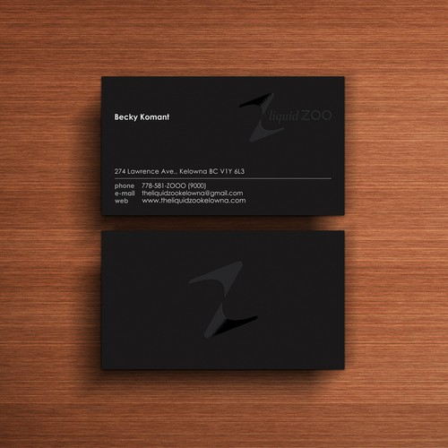 Create a unique business card for a Unique Nightclub/Showlounge