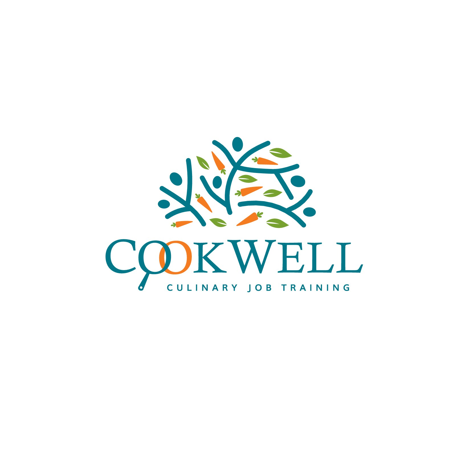 CookWell Logo Design