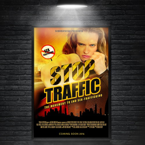 Stop Traffic Movie Poster