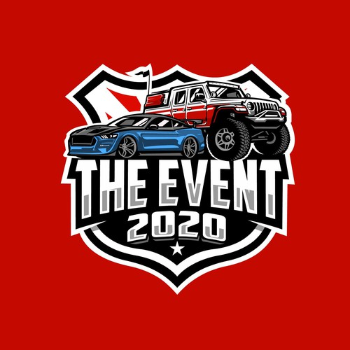 Bold cars logo Concept for the Event 2020