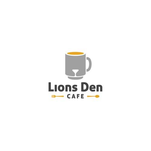 Creative logo for cafe