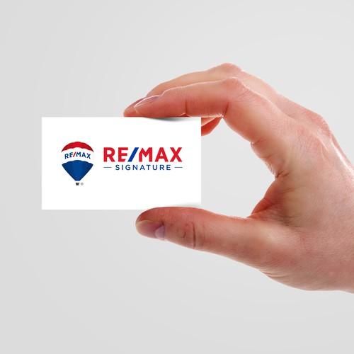 RE/MAX Signature Logo Design