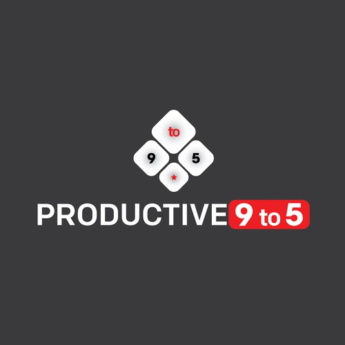 Logo for ''Productive 9to5''