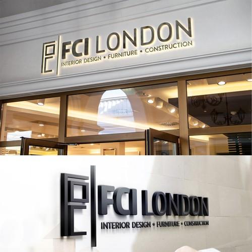 Logo for FCI London furniture