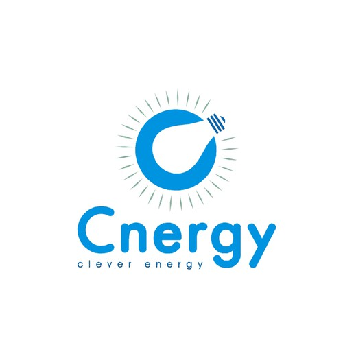 "Logo for ""Cnergy"": a new Electricity & Gas Company in England"