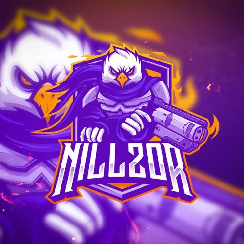 E-sports player logo design: NILLZOR!