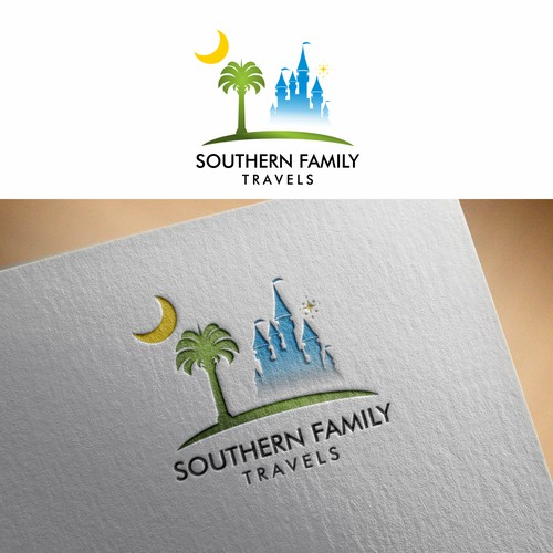 Logo concept for Southern Family Travels