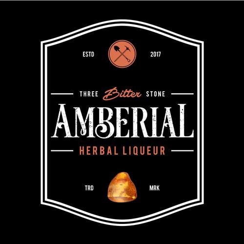 LOGO design for AMBER bitter