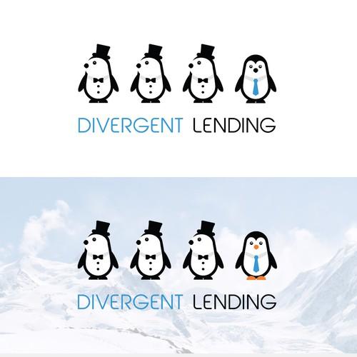 Logo concepr for Divergent Lending