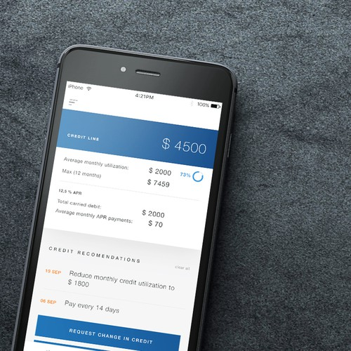 Credit Card Management App