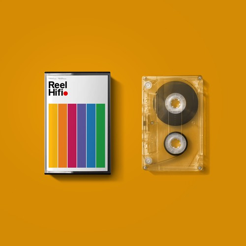 Logo proposal for Reel Hifi