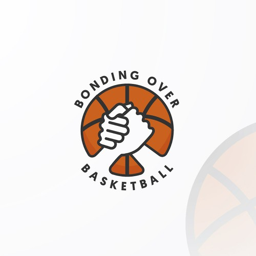 Bonding Over Basketball Logo Design