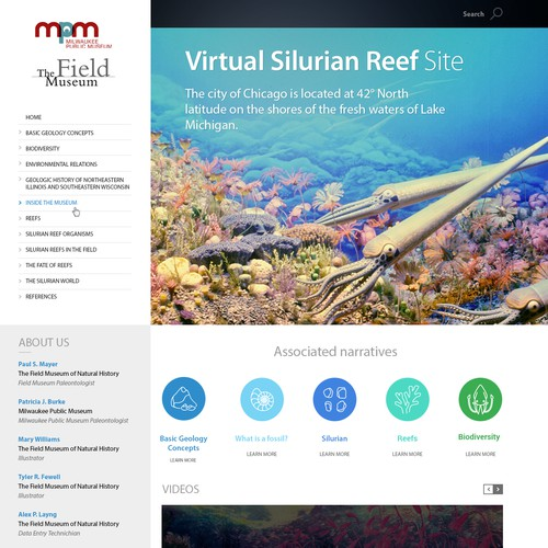 Virtual Silurian Reef