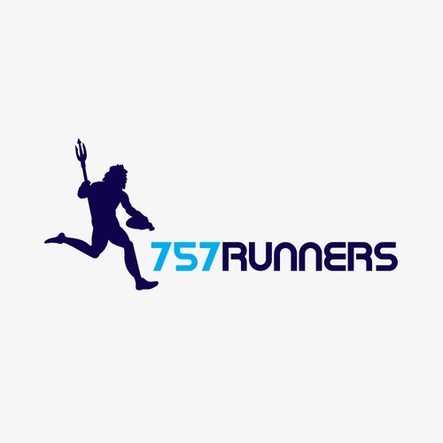 Create an updated version of the 757 Runners logo - a running group inHampton Roads,Virginia