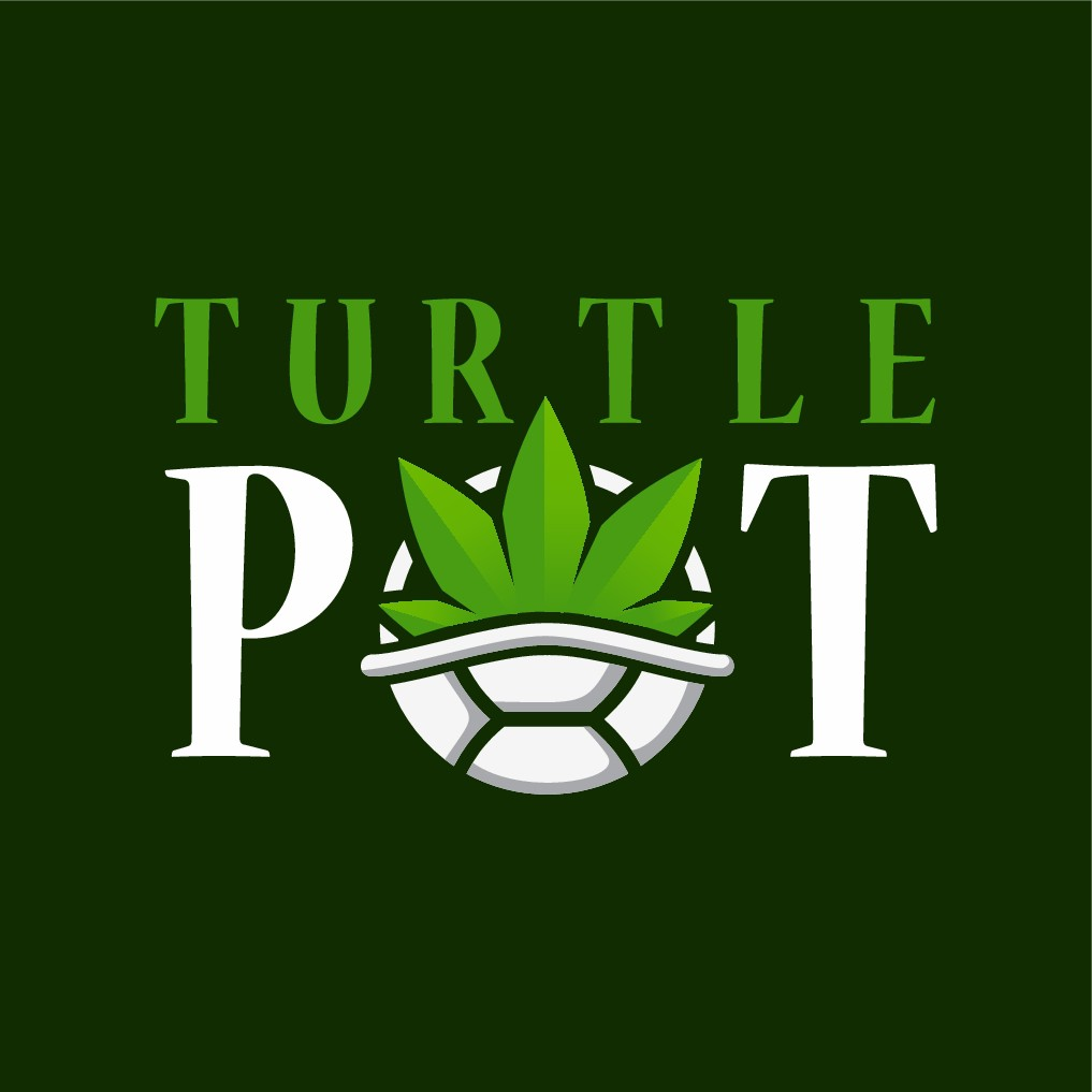 I need a logo for the TurtlePot, a ground cannabis container/dispenser