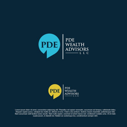 Logo Concept for PDE Wealth Advisors LLC