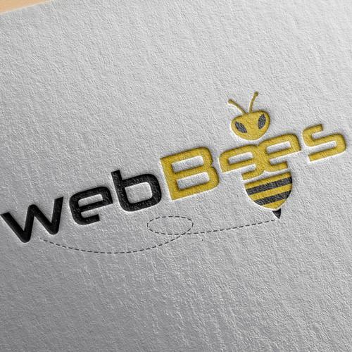 WebBees logo concept