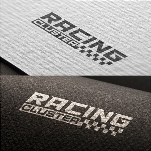Racing Cluster logo design