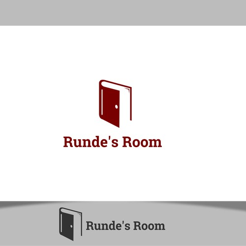 Negative Space Logo Concept for Runde's Room