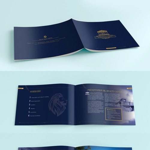 Brochure design contest