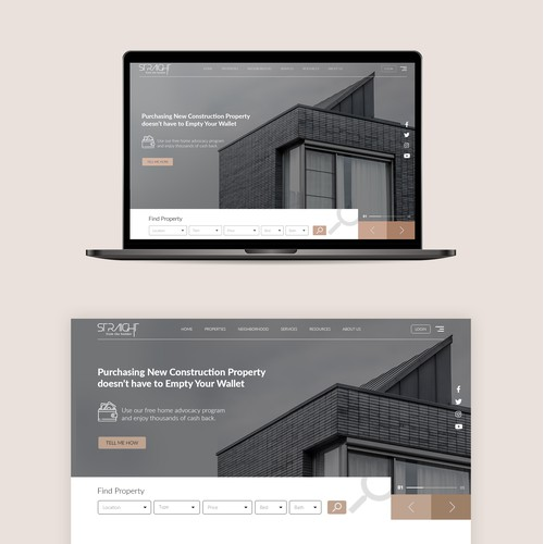 Property Advocat's Web design