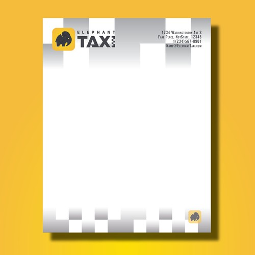 Elephant Taxi Stationary