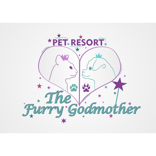 Guaranteed: The Furry Godmother needs a magical new logo!
