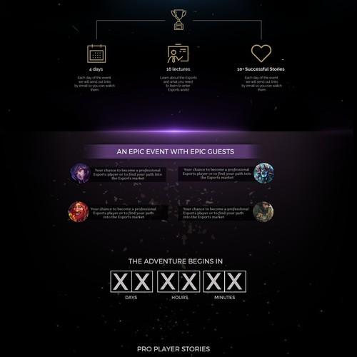 Web design for Game
