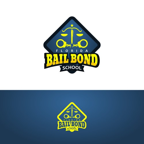 logo design for florida bail bond school