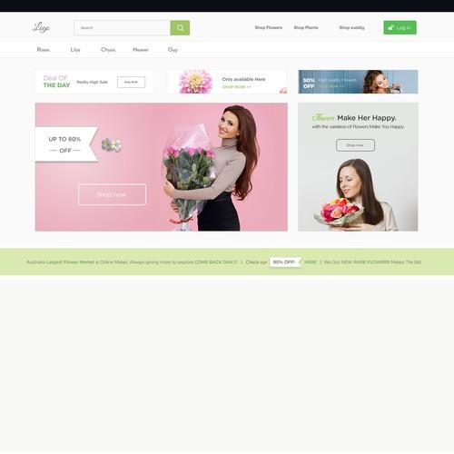 Clean Flowers Website