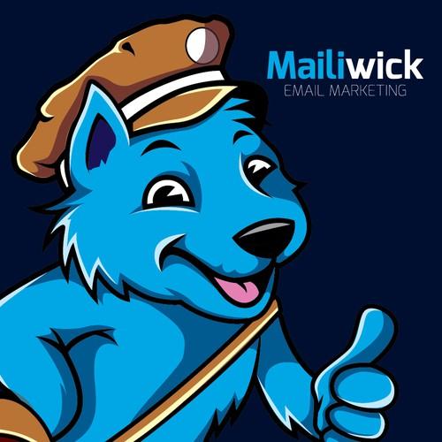 dog character mascot design