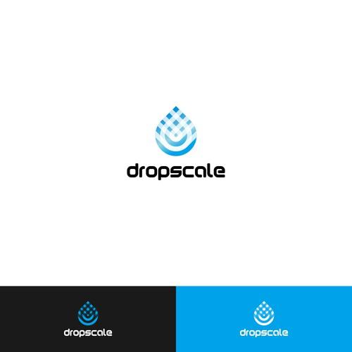 dropscale concept logo