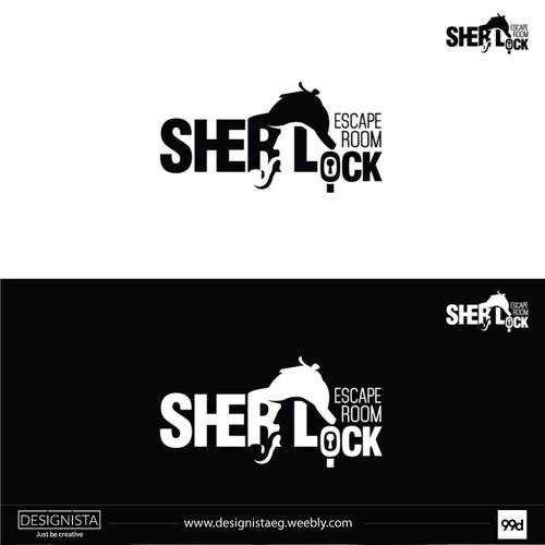 Sherlock escape room logo