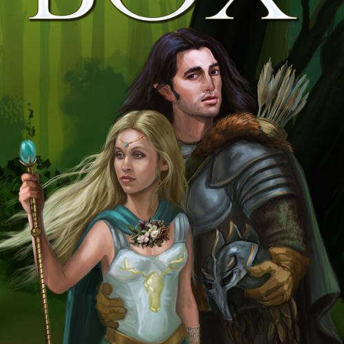 Elven Lovers Fantasy Novel Book Cover