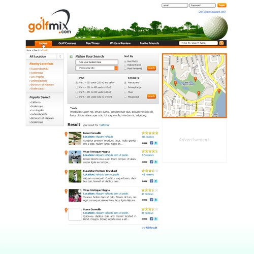 Need a Kick Butt Golf Course Community & Review Website