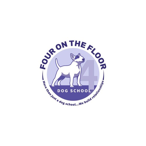 Logo for Dog School