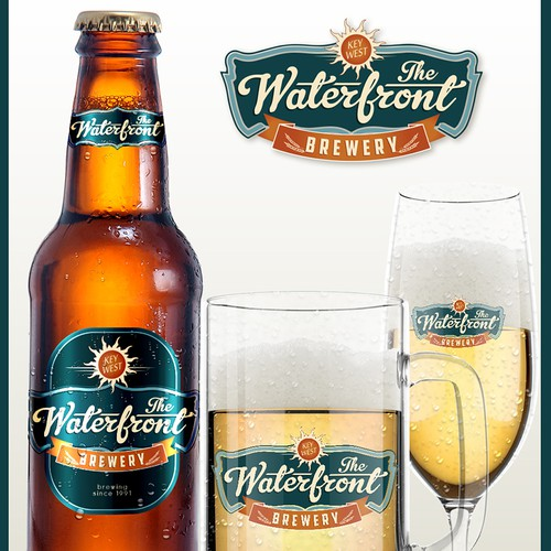LOGO & BRANDING: The Waterfront Brewery