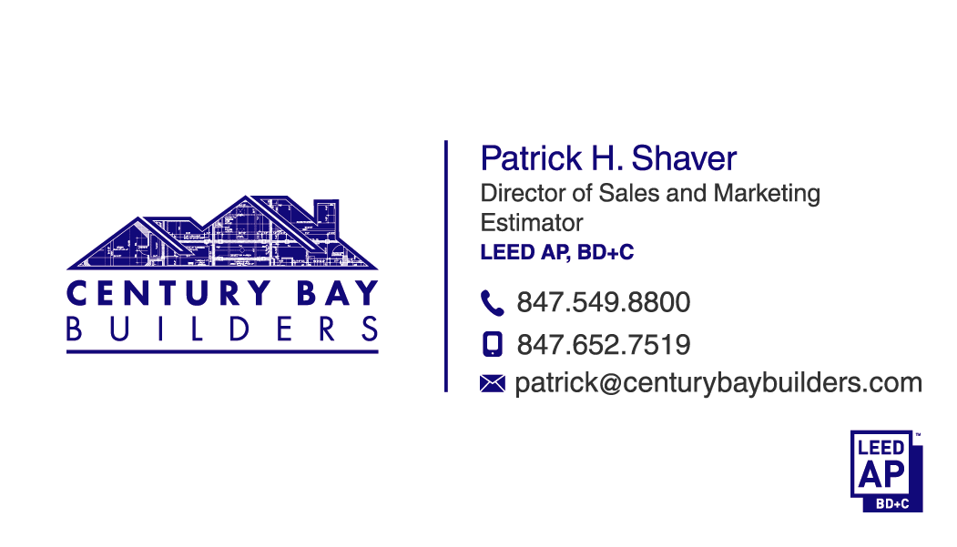 New business cards for our construction company