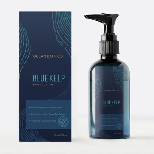 Ocean Bath Co. BLUE KELP