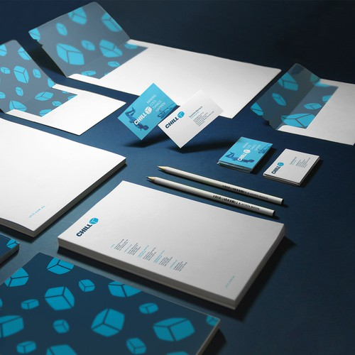 Stationery Design For Chill