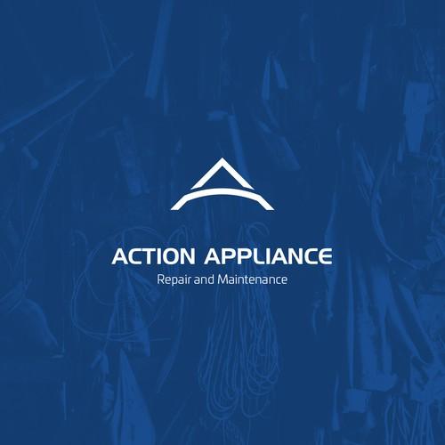 Clean logo for repair business